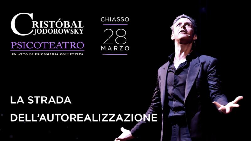 Cristobal Jodorowsky Ticino Psicoteatro Svizzera 28 marzo 2018